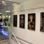 """Aéroport de Nice exposition collective """"La femme 100 Têtes"""""""