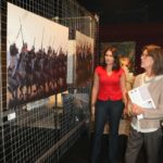 Une des dernière exposition de Luz en présence de Caroline de Monaco