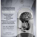 """Affiche exposition collective """"Mutanigénèse"""""""