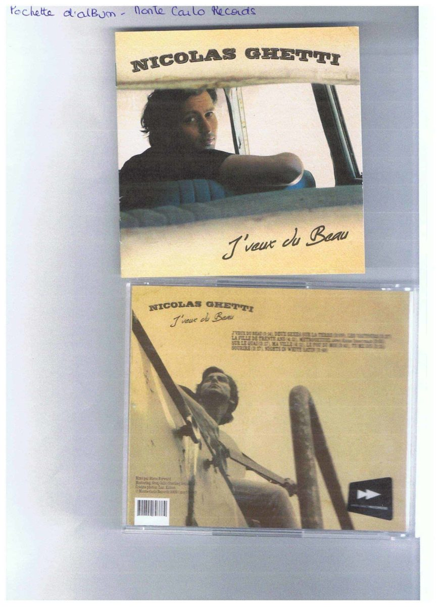 La pochette de cet album est une réalisation de la photographe Luz