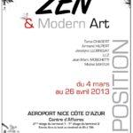 Affiche de l'exposition Zen et Modern Art