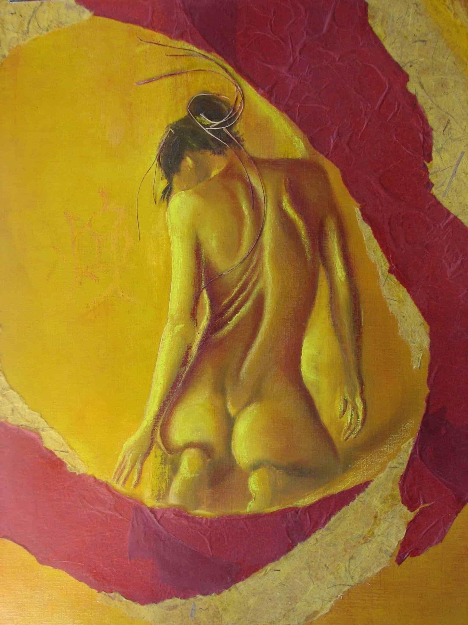 Peinture d'art contemporain, vendue