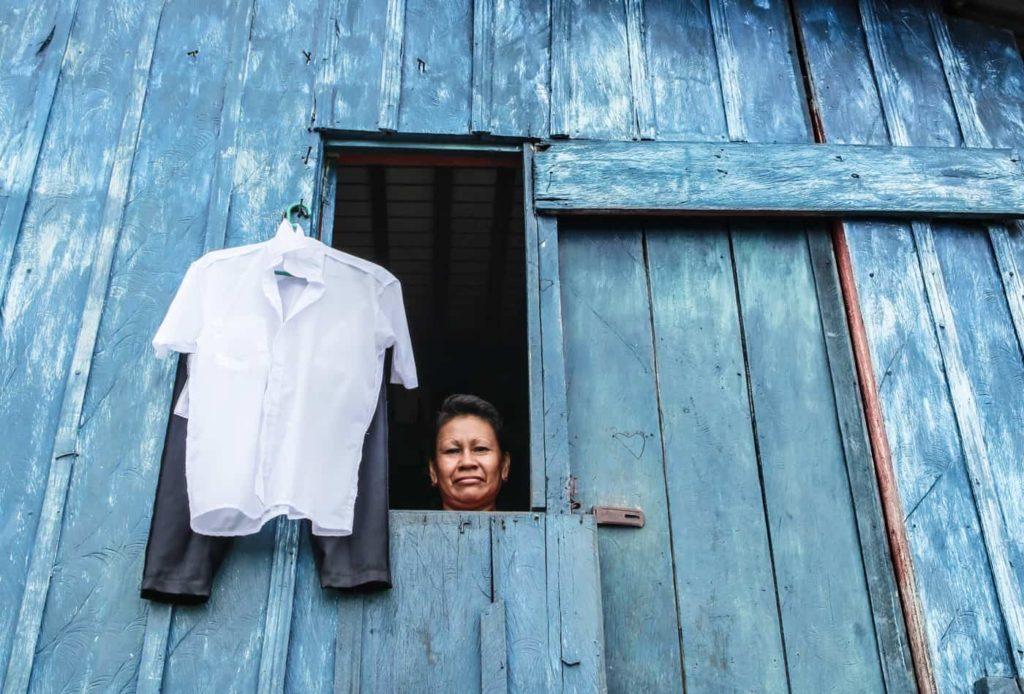 Colombie, Amazonie. A la frontière entre le Pérou et le Brésil, exactement à Leticia.