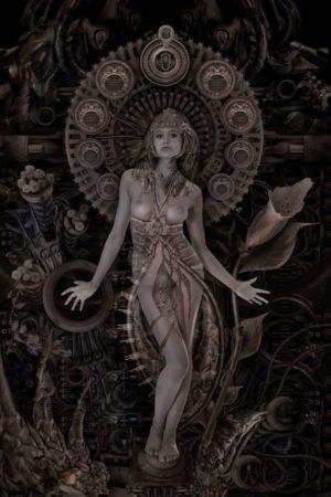 Art nouveau | Caz in The Machine