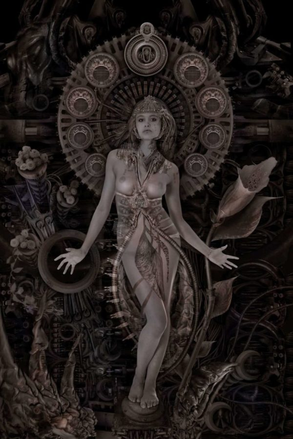Art nouveau | Caz in The Machine
