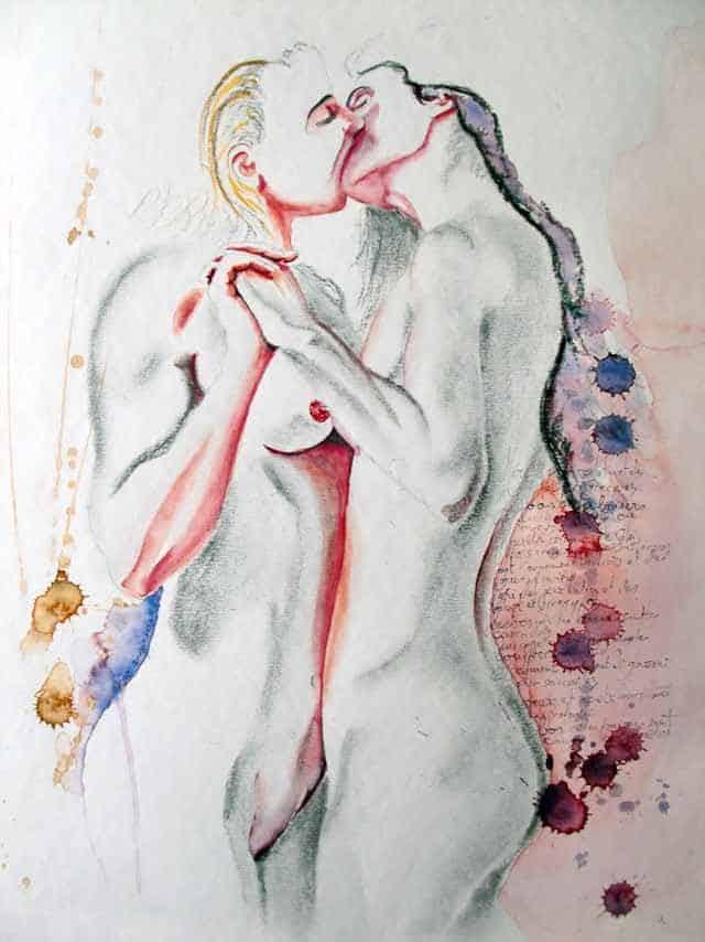 Galerie d'art | Peinture Nu Contemporain