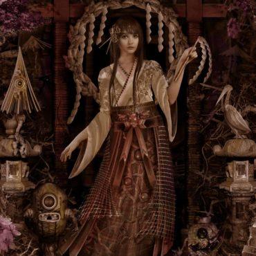 Le japon à l'honneur dans l'univers fantastique de l'artiste