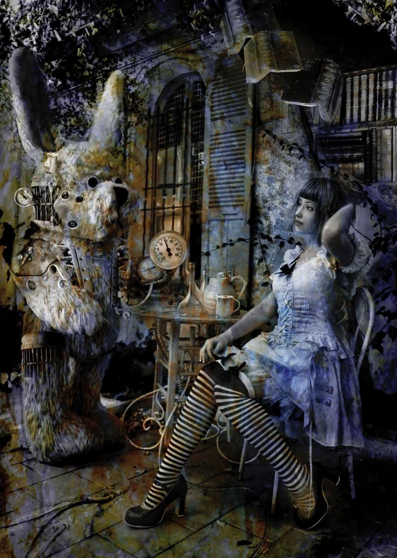 "Oeuvre phare de la série ""Dark Wonderland"""