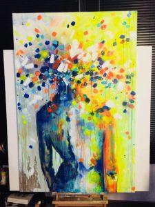 Immersion chez l'artiste peintre