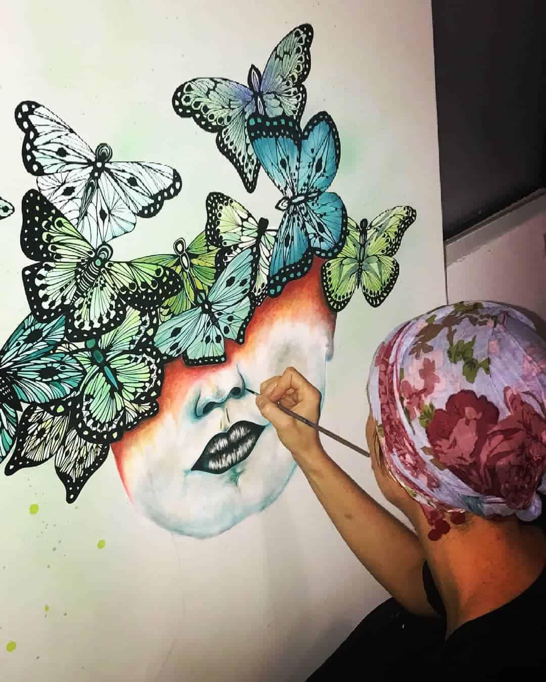Work in progress by Julie Dalloz