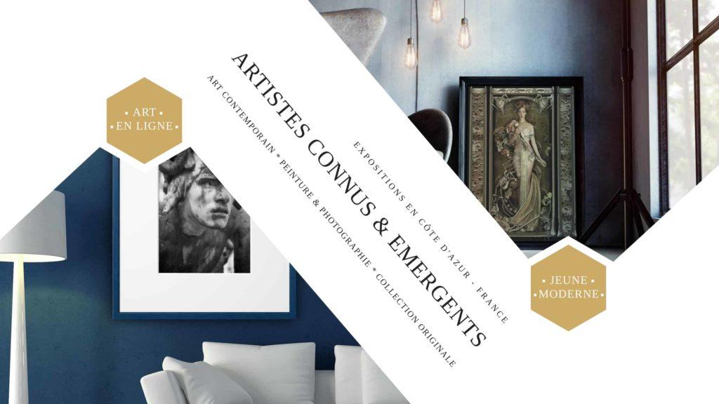 Nos artistes contemporains | Catalogue de galerie d'art