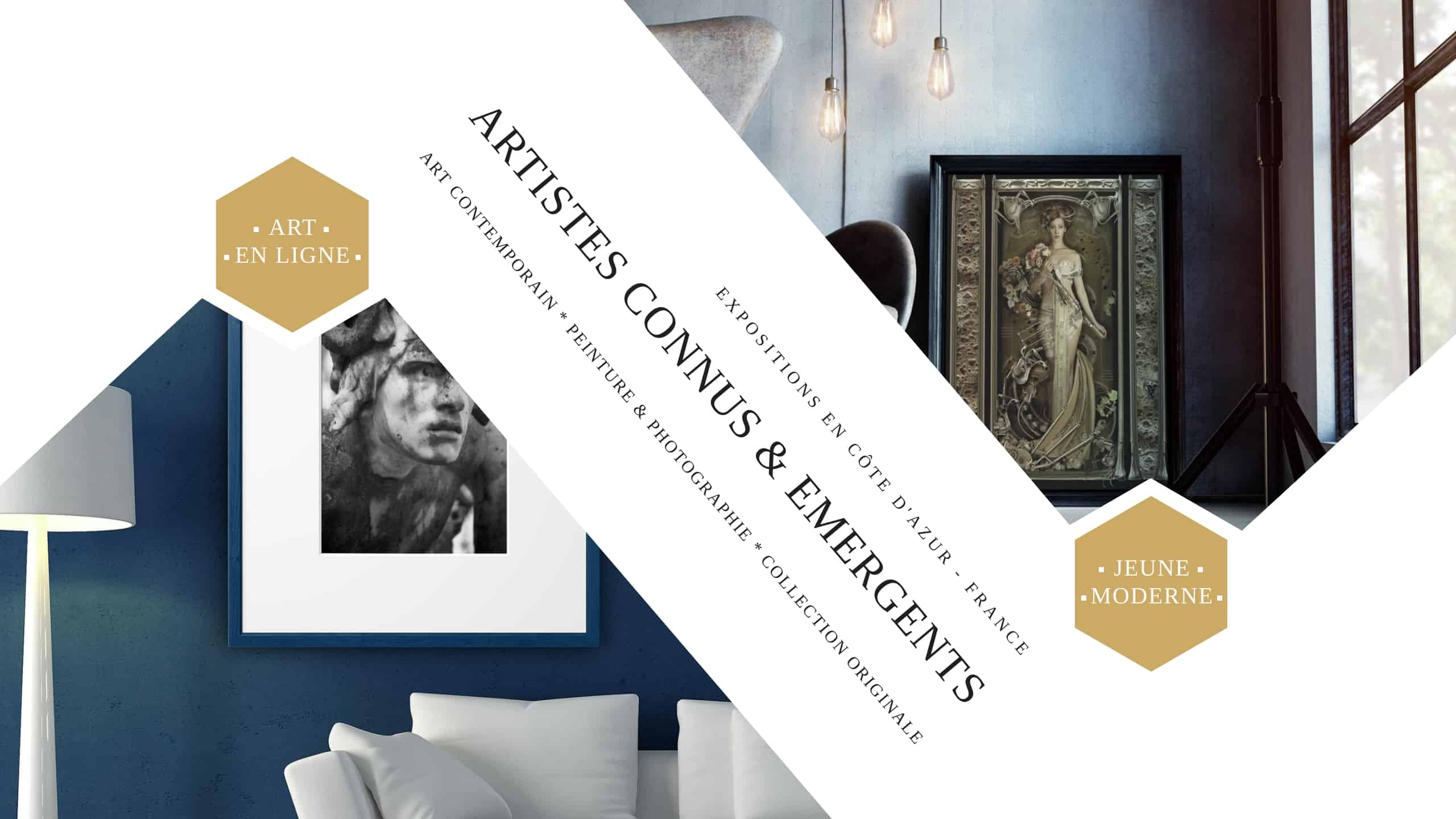 Nos artistes contemporains | Catalogue de galerie d'art