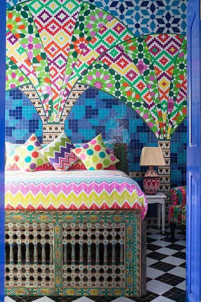 Décoration en peinture murale par Julie Dalloz