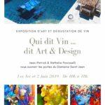 Exposition d'art. Julie Dalloz au Domaine Saint Jean à Nice