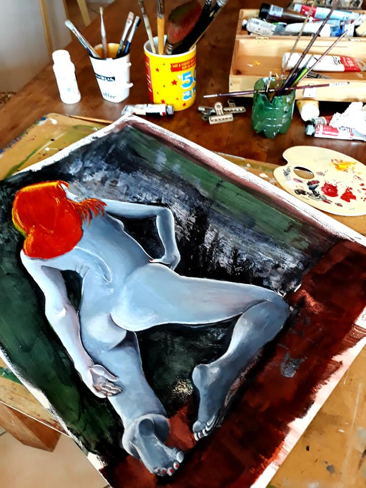 Atelier artiste peintre