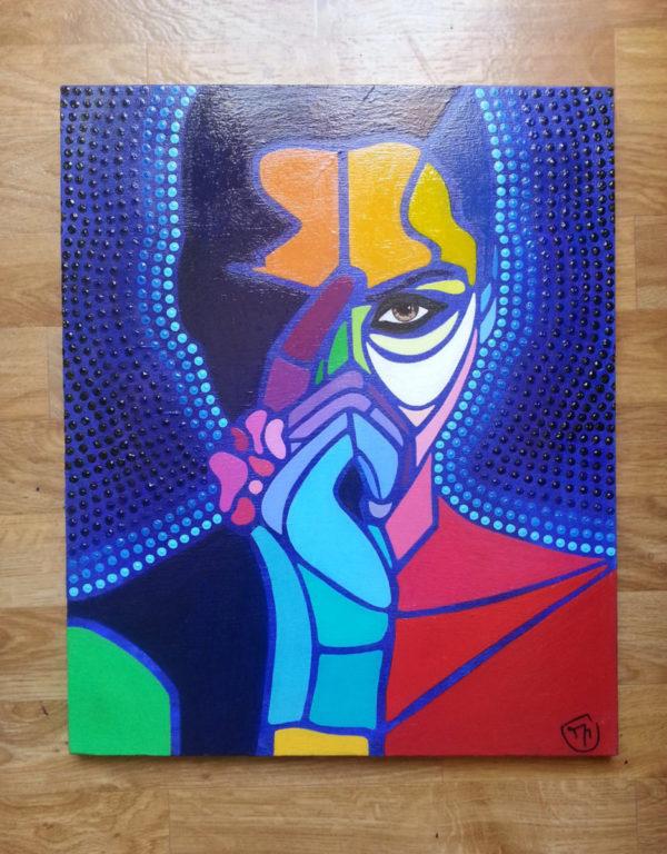 Peinture pop art