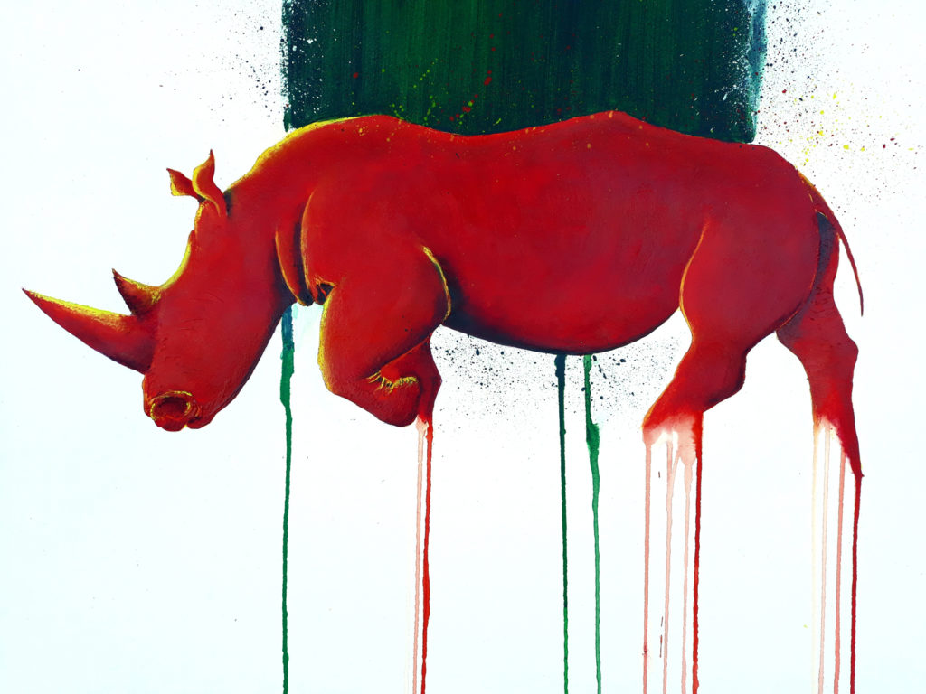 Peinture animalière contemporaine